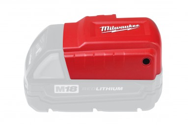 Akku-Adapter Milwaukee M18 USB PS für M12-Thermojacken