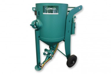 CLEMCO-Strahlkessel 100 Liter SCW-2040 mit FSV / RMS-2000A