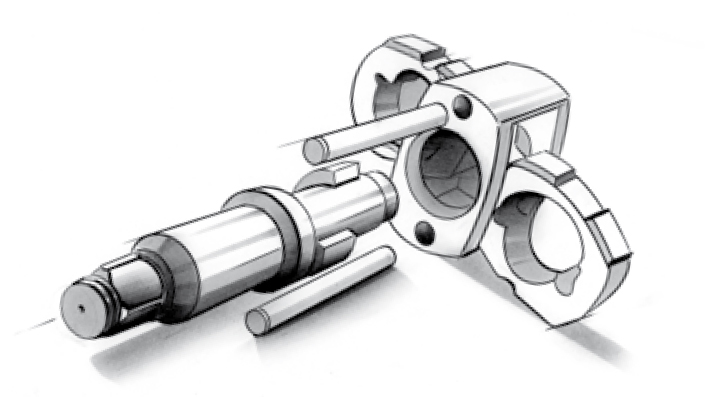 Twin-hammer