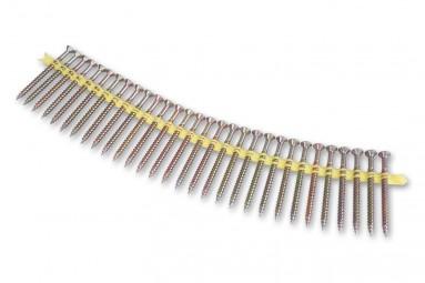 Holzschrauben Quik Drive 4,6 x 64 mm gelb chrom.